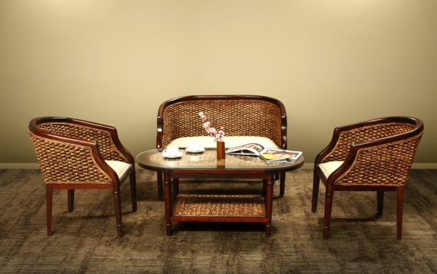 Shena Wicker Living Set