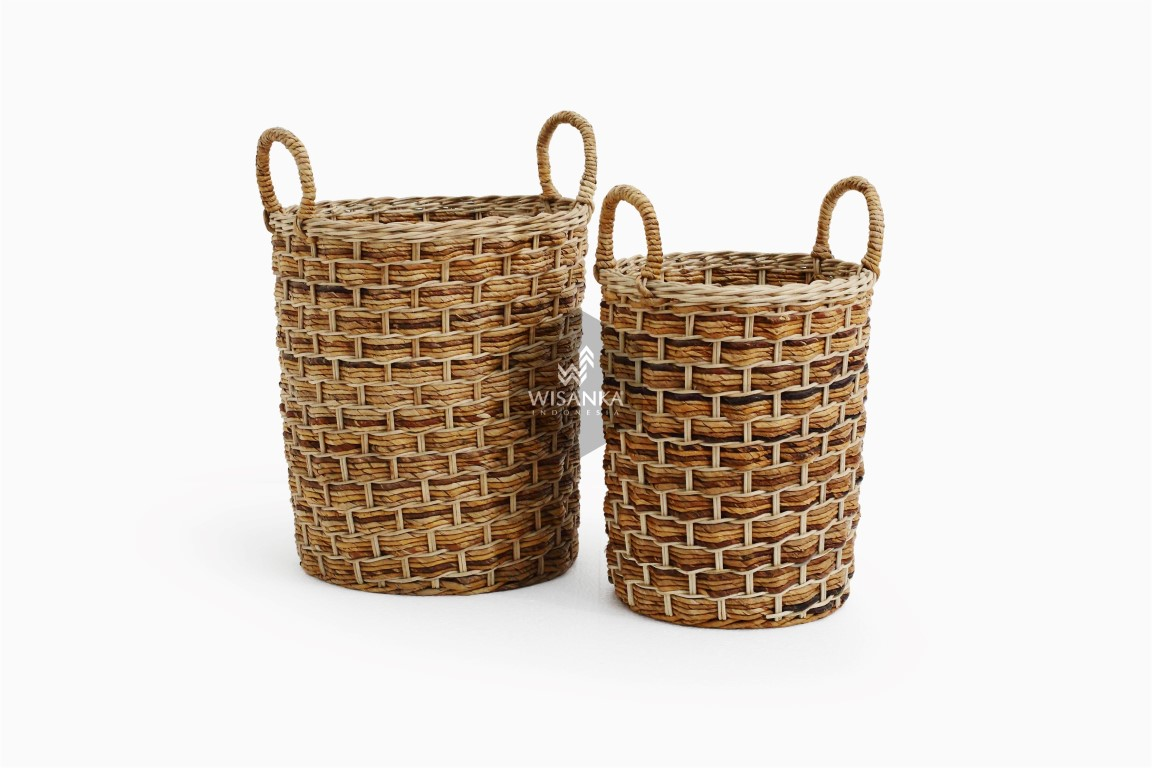 Versail Round Rattan Basket | Rattan Furniture Supplier ...
