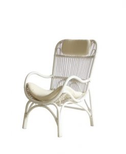 Silla Cozy Rattan Arm Chair