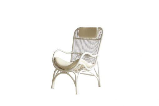 Silla Cozy Rattan Arm Chair