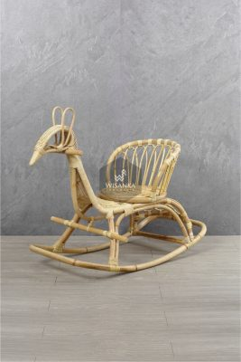 Tora Animal Rattan Rocker