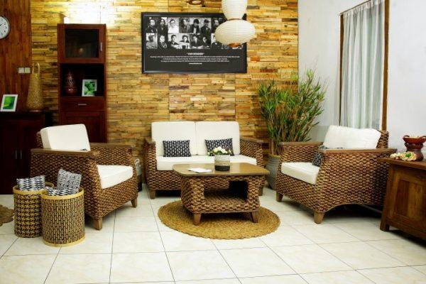 Showroom Natural Rattan Furniture