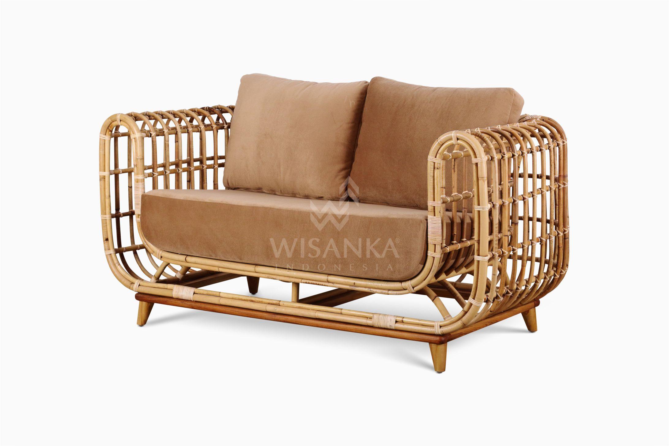Siena Rattan Sofa Natural